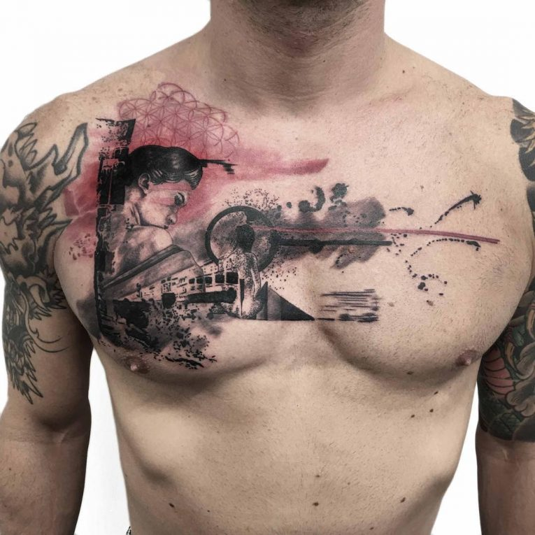 Abstract Tattoo 106