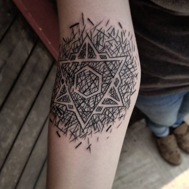 Abstract Tattoo 92