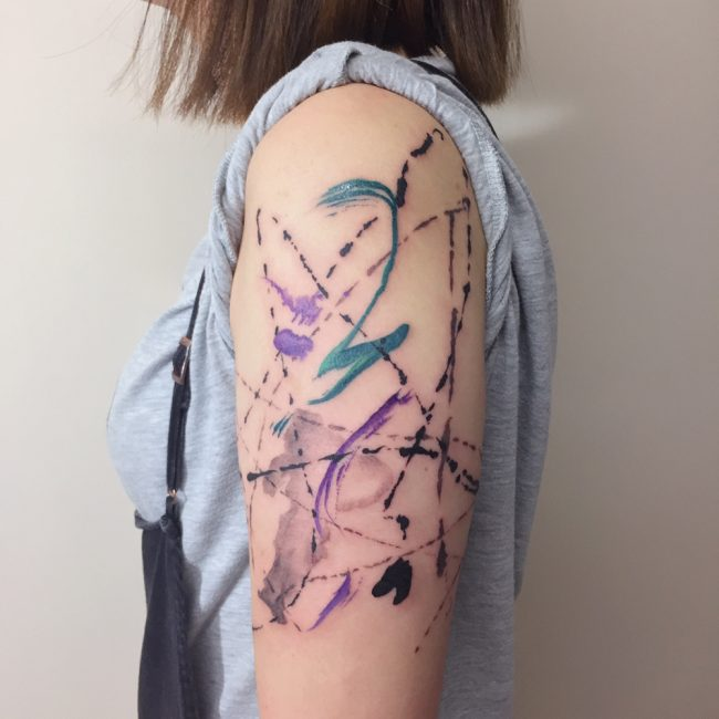 Abstract Tattoo 94
