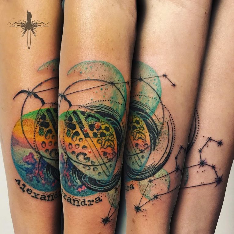 Abstract Tattoo 96