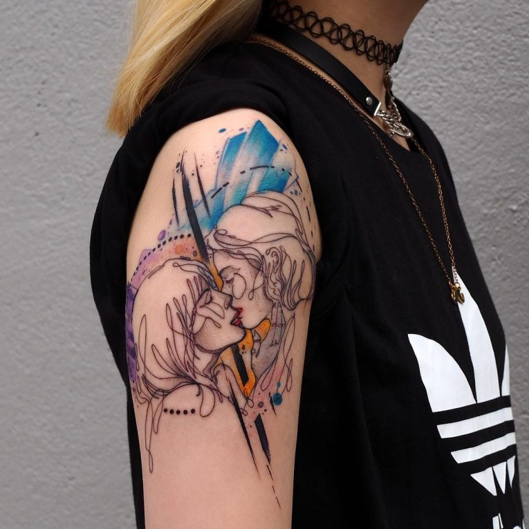 Abstract Tattoo 99