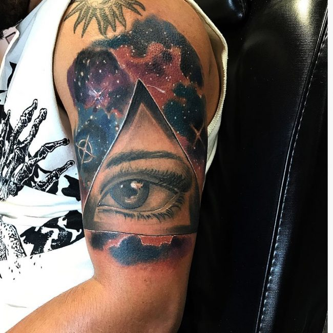 All Seeing Eye Tattoo 42