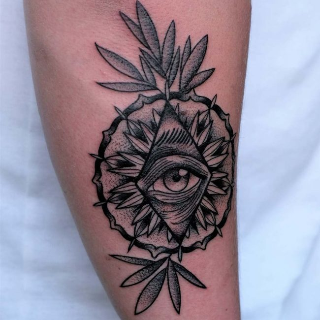 All Seeing Eye Tattoo 43