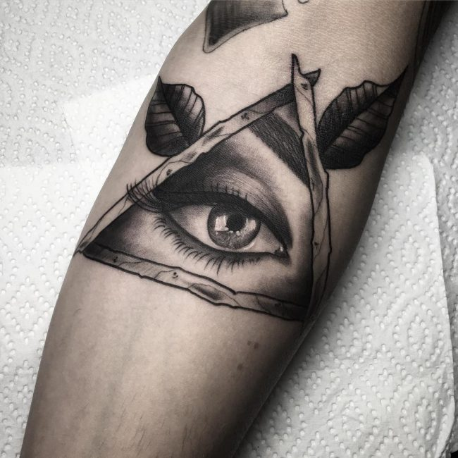 All Seeing Eye Tattoo 44
