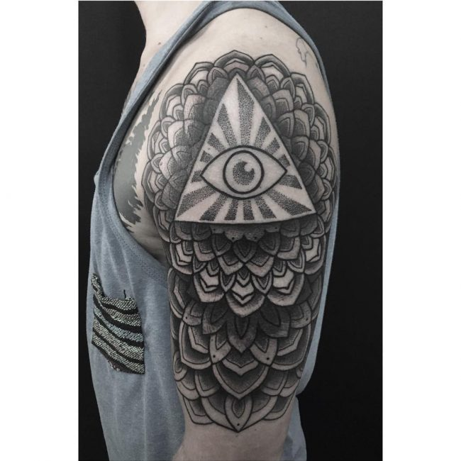 All Seeing Eye Tattoo 47