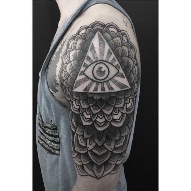 All Seeing Eye Tattoo 47