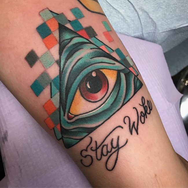 All Seeing Eye Tattoo 48