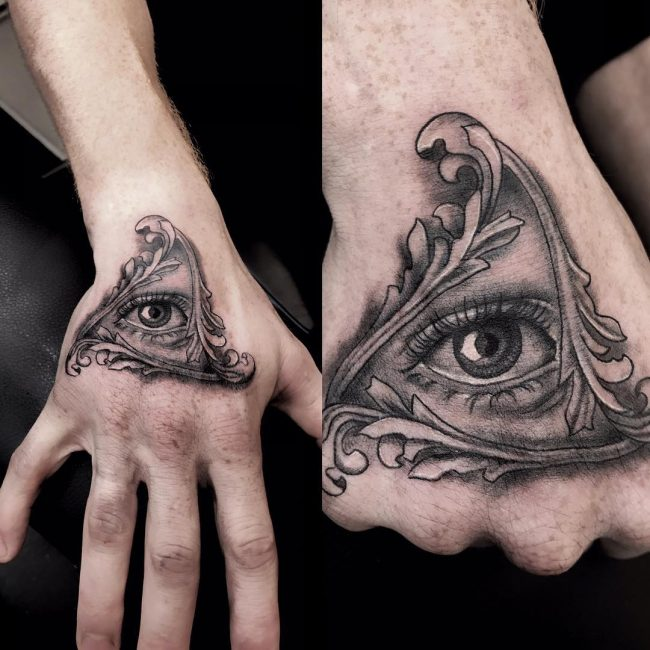 All Seeing Eye Tattoo 50