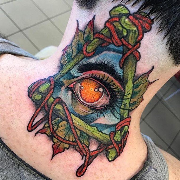 All Seeing Eye Tattoo 51