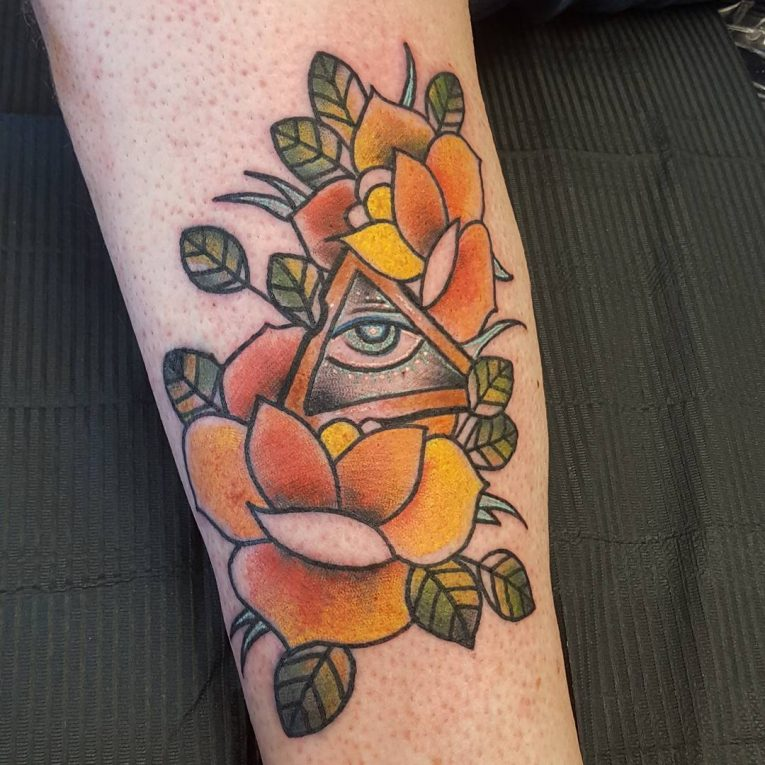 All Seeing Eye Tattoo 52