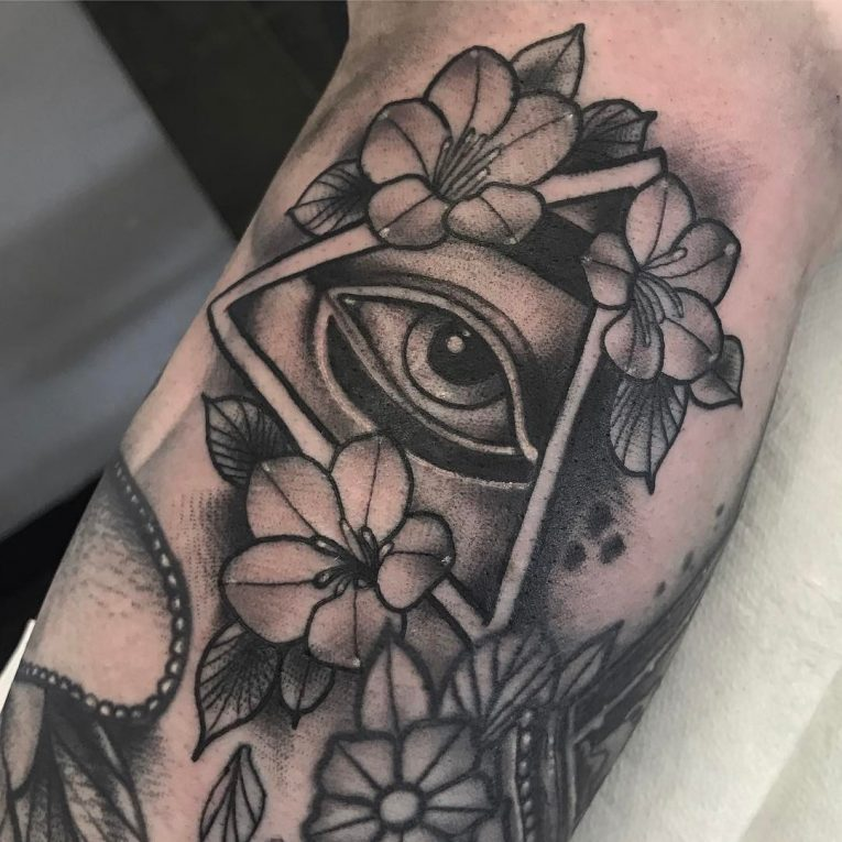 All Seeing Eye Tattoo 53