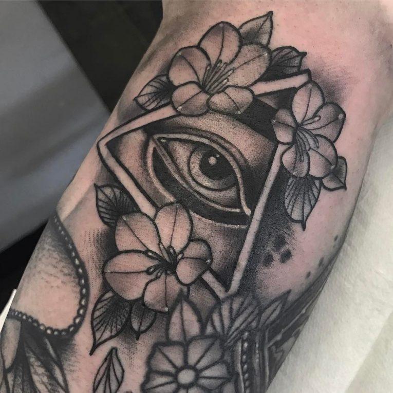 All Seeing Eye Tattoo 53