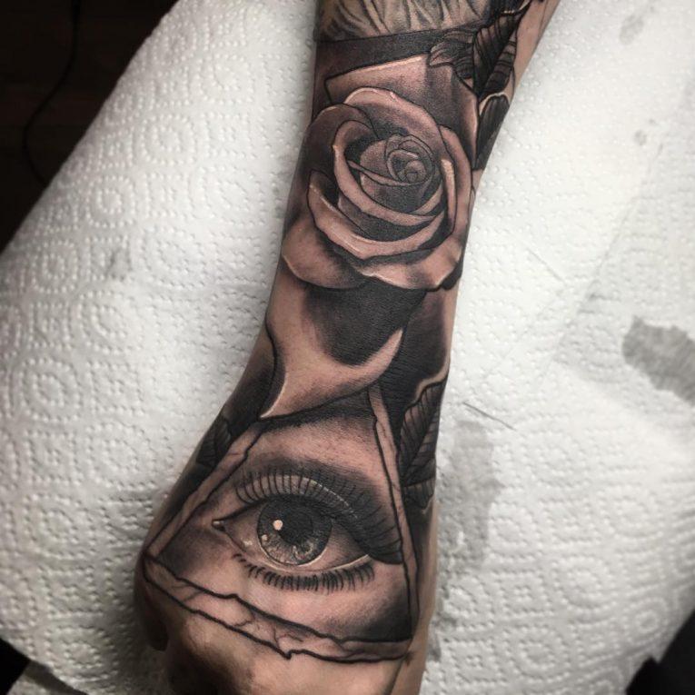 All Seeing Eye Tattoo 55