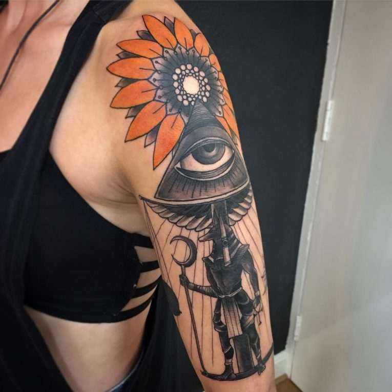 All Seeing Eye Tattoo 56