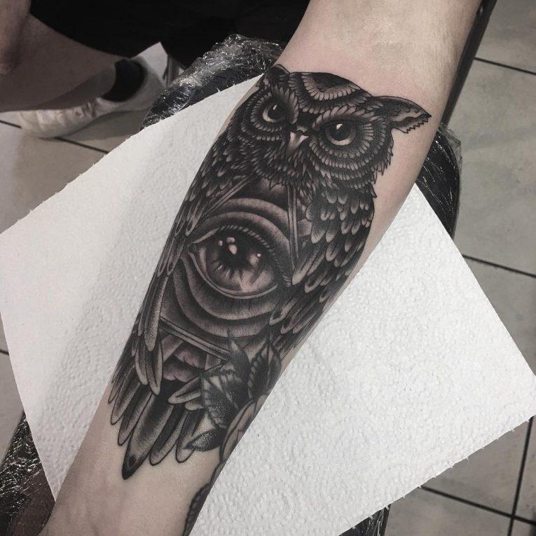 All Seeing Eye Tattoo 60