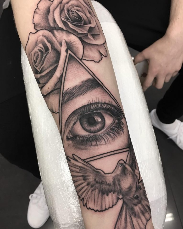 All Seeing Eye Tattoo 61