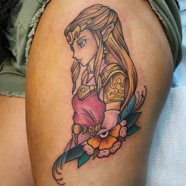 Anime Tattoo 46