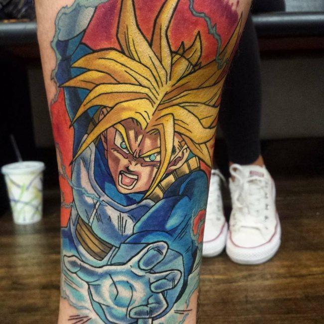 Anime Tattoo 55