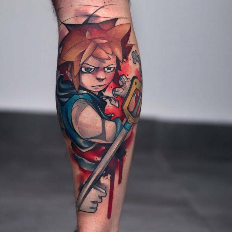 Anime Tattoo 64
