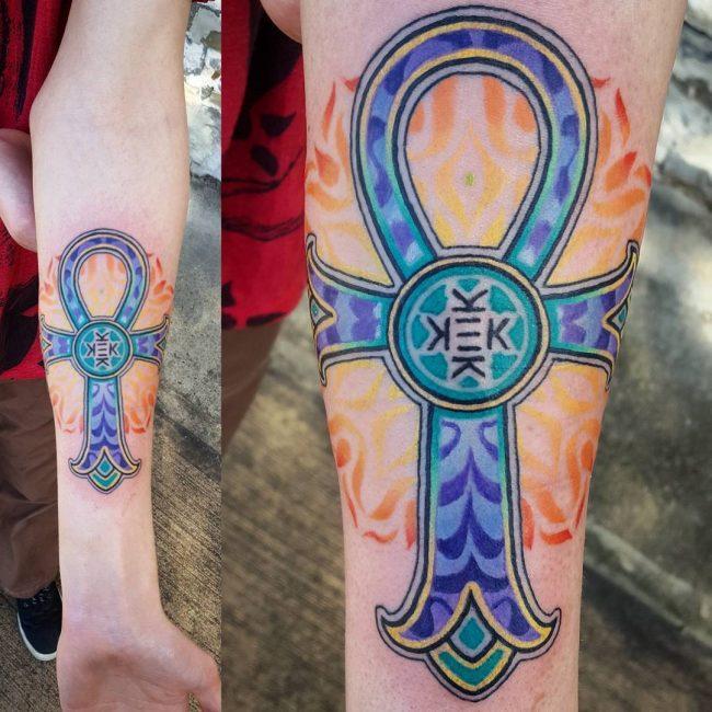 Ankh Tattoo 57