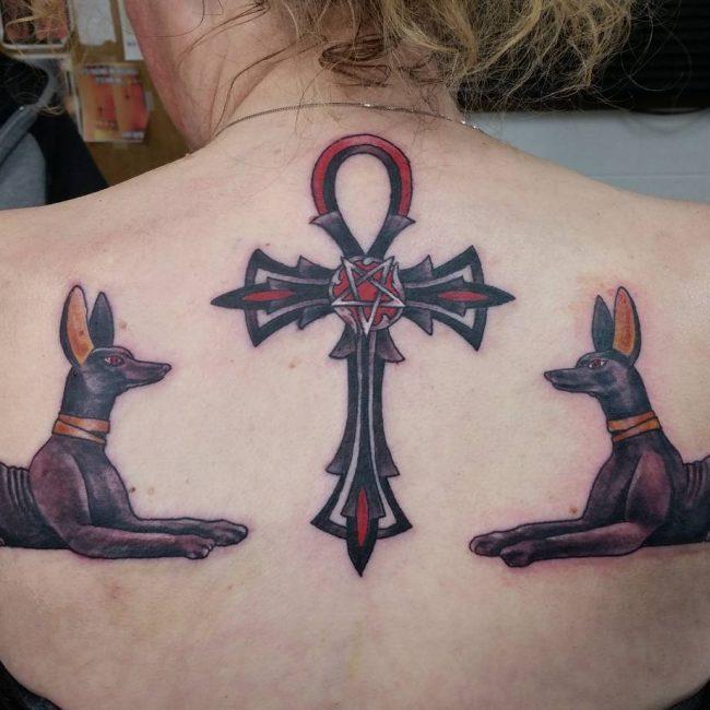 Ankh Tattoo 62