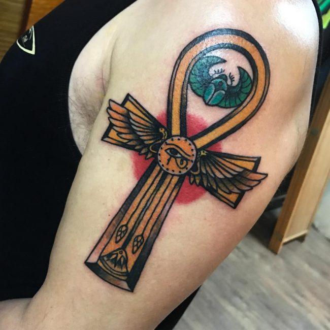 Ankh Tattoo 64