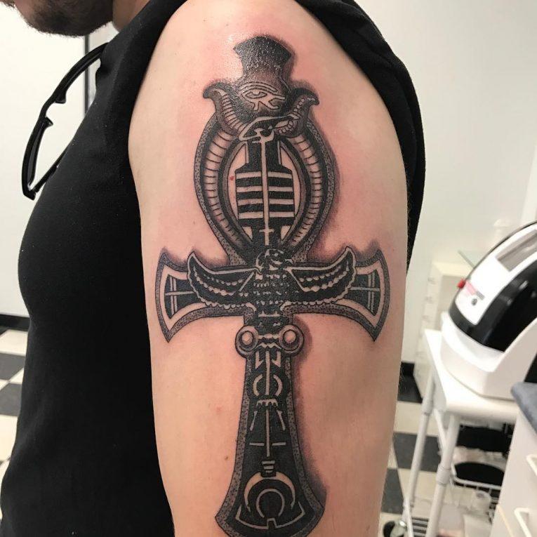 Ankh Tattoo 68