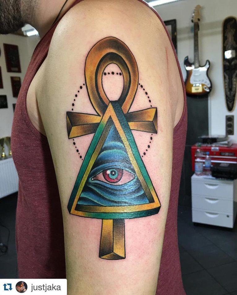 Ankh Tattoo 74