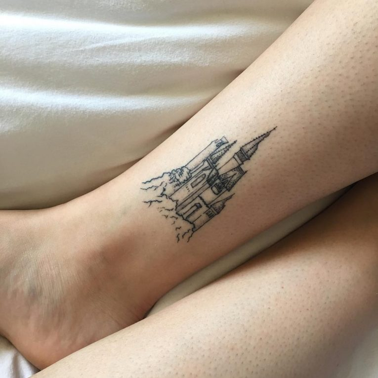 Ankle Tattoo 115
