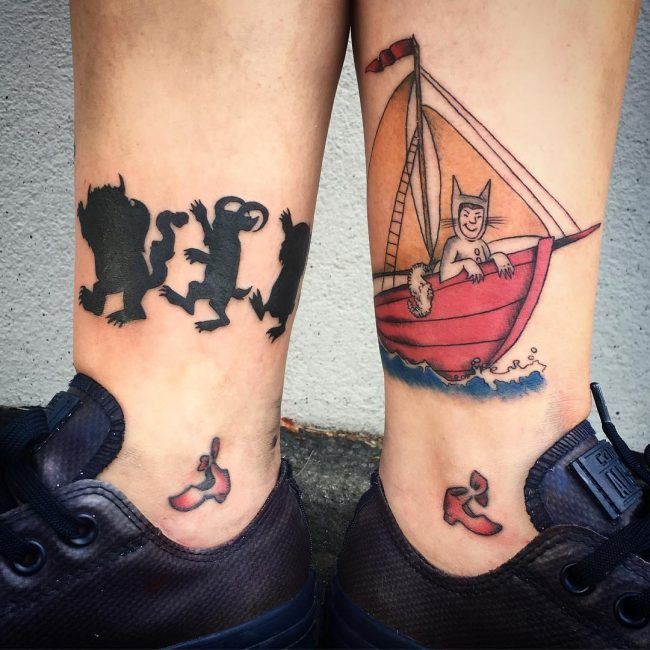 Ankle Tattoo 98