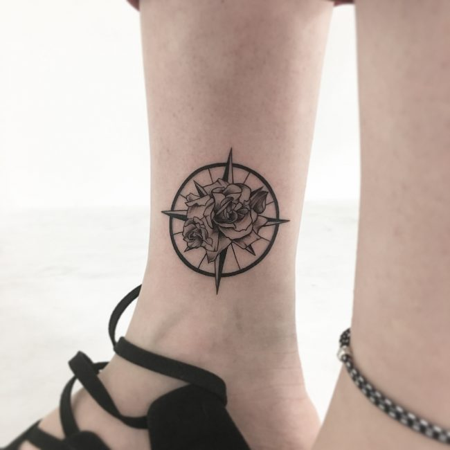 Ankle Tattoo 99
