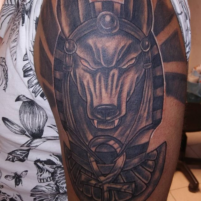 cef4a7231 85+ Incredible Anubis Tattoo Designs – An Egyptian Symbol of Protection