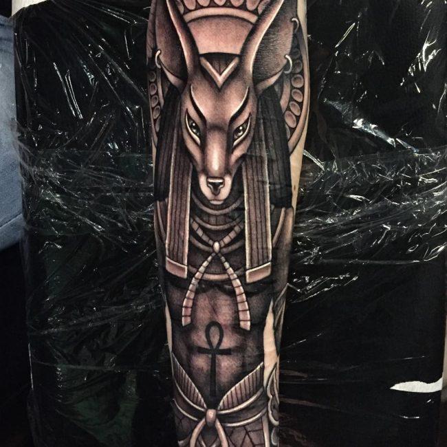 Anubis Tattoo 67