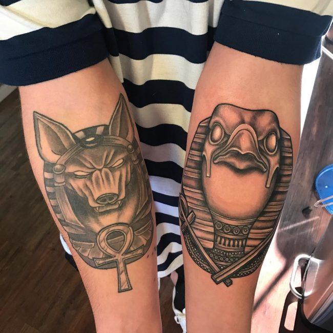 Anubis Tattoo 69