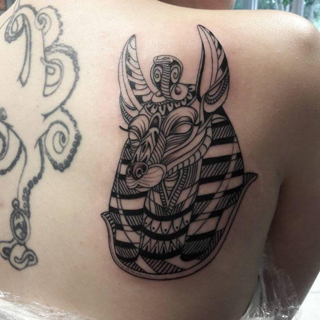 Anubis Tattoo 71