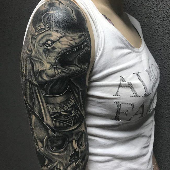Anubis Tattoo 72