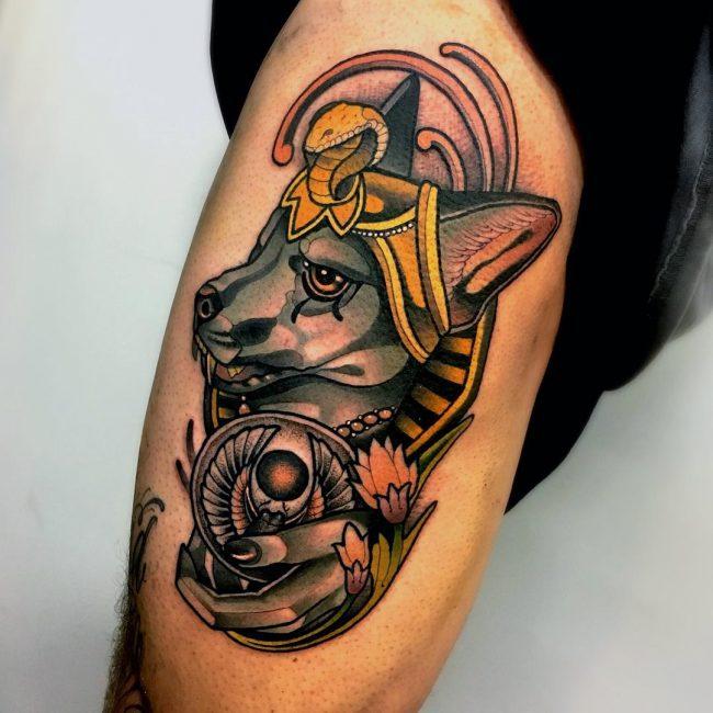 Anubis Tattoo 73