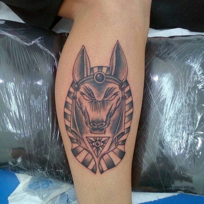 Anubis Tattoo 74