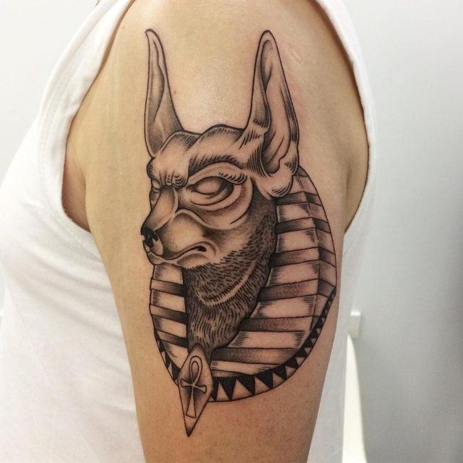 Anubis Tattoo 75