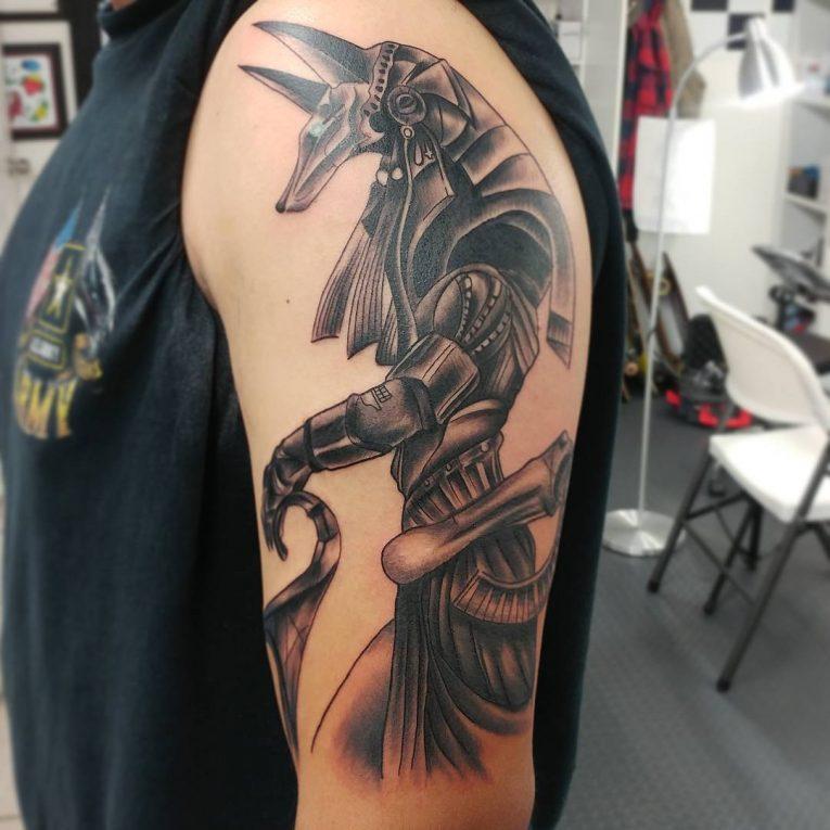 Anubis Tattoo 76