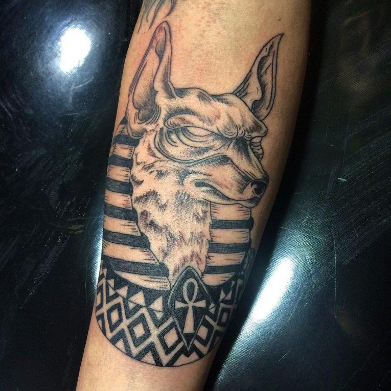 Anubis Tattoo 78