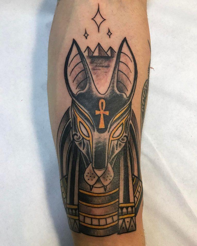 Anubis Tattoo 87