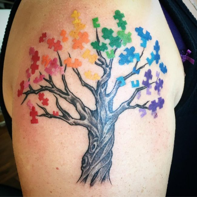Autism Tattoo 44