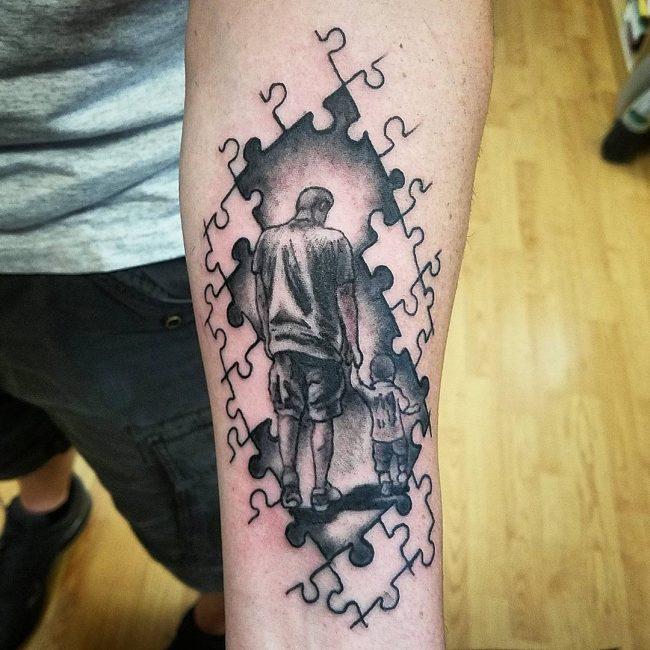 Autism Tattoo 50