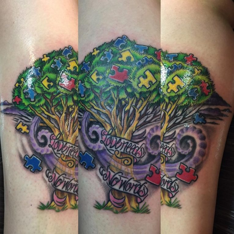 Autism Tattoo 56
