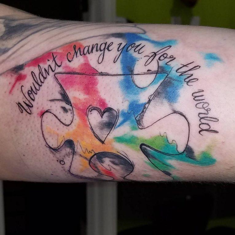 Autism Tattoo 60