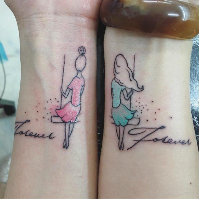 Best Friend Tattoo 120