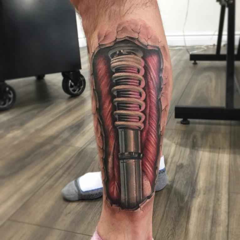 Biomechanical Tattoo 68