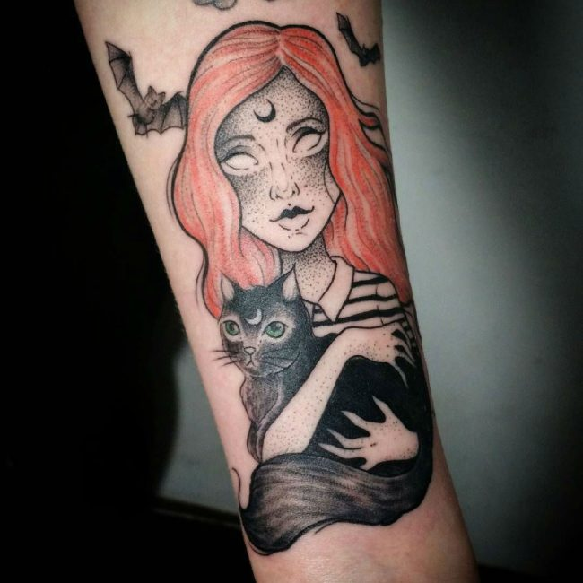 Black Cat Tattoo 46