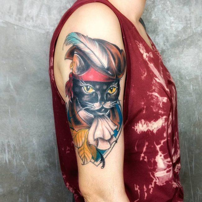 Black Cat Tattoo 51